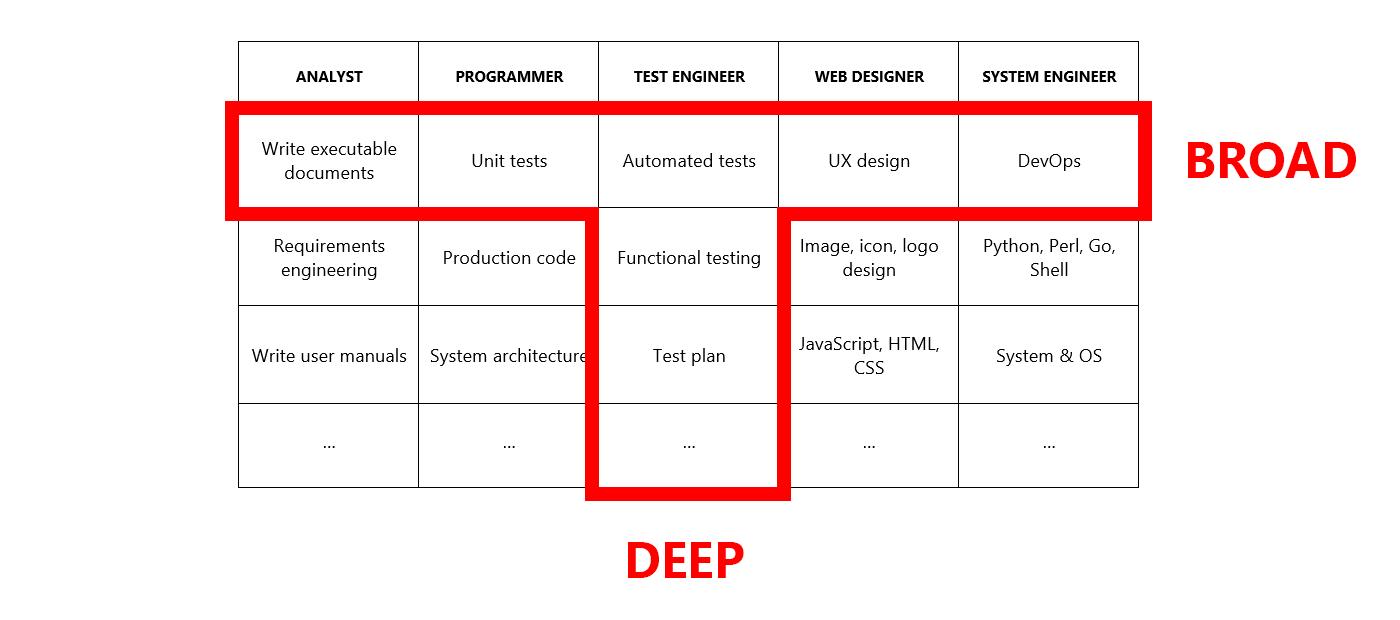 Development Team Skills